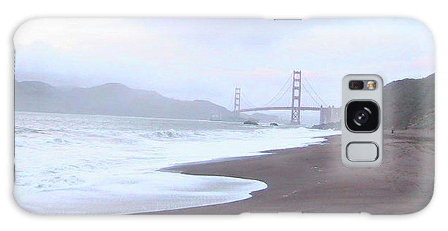 Golden Gate Bridge Galaxy S8 Case featuring the photograph A Misty Golden Gate by Dottie Kinn
