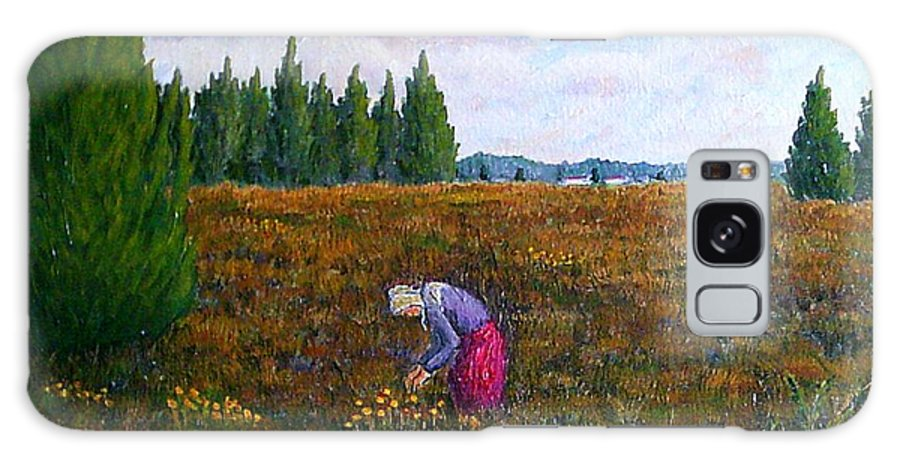 19th Century Impressionist Landscape Galaxy S8 Case featuring the painting A Moment Of Peace by Frank Morrison