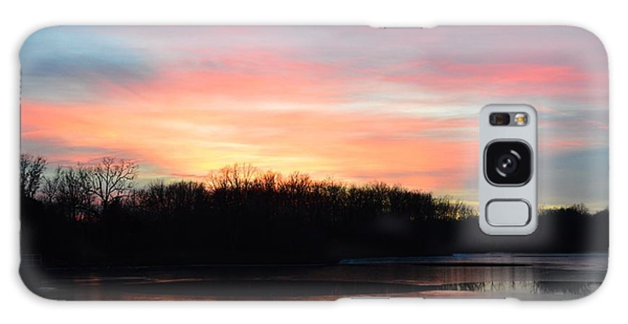 Photograph Galaxy S8 Case featuring the photograph A Pastels Eve by J R Seymour