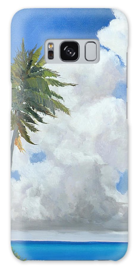 Landscape Galaxy Case featuring the painting A Perfect Day by Glenn Secrest