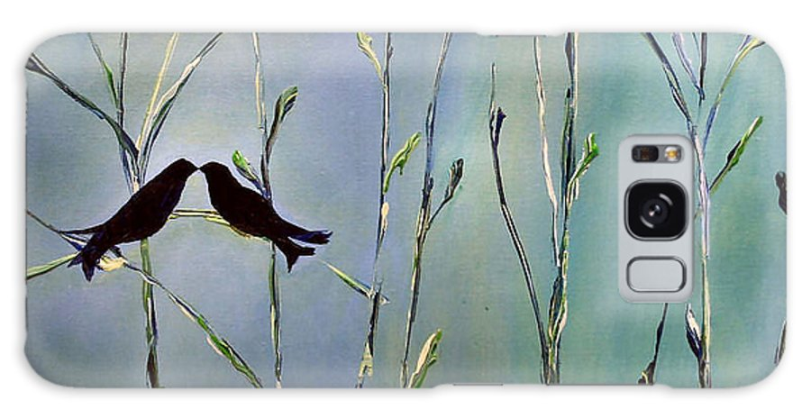 Bird Art Galaxy S8 Case featuring the painting A Place For Us by Dolores Deal