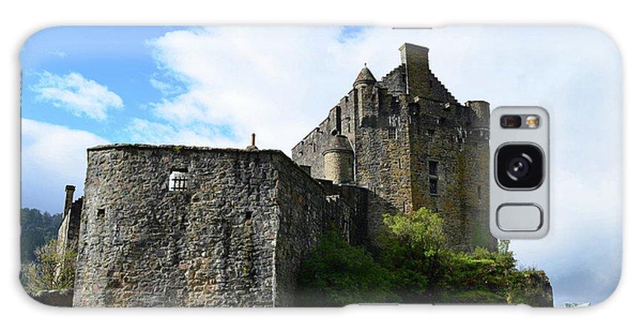 Eilean Donan Galaxy S8 Case featuring the photograph A Pretty Look At Eilean Donan Castle by DejaVu Designs