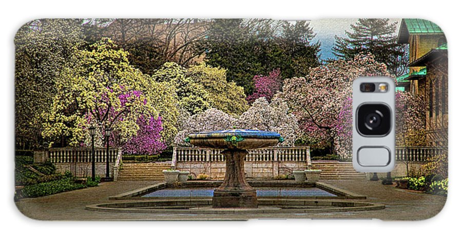 Brooklyn Galaxy S8 Case featuring the photograph A Rainy Day In Magnolia Season by Chris Lord