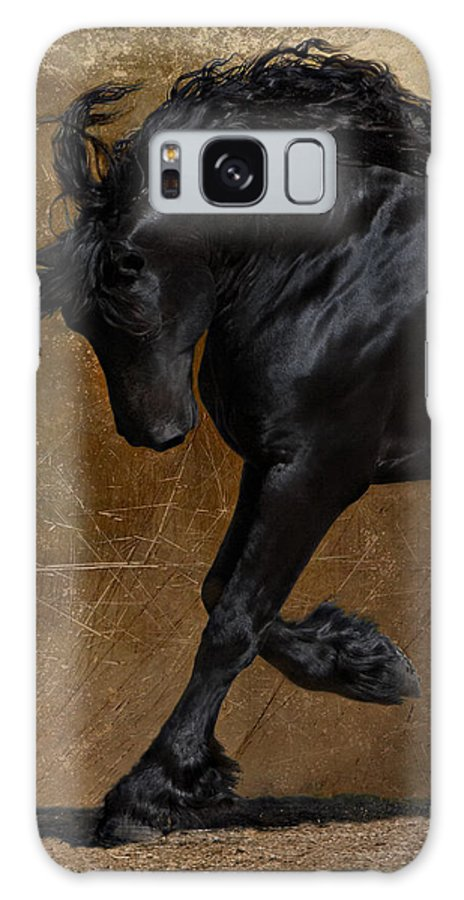 Horse Galaxy S8 Case featuring the photograph A Regal Bow by Jean Hildebrant