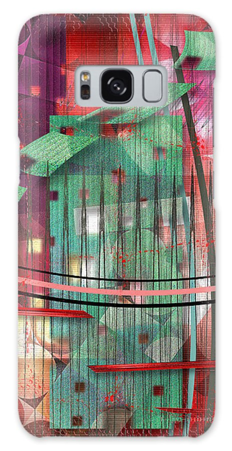 House Galaxy S8 Case featuring the digital art A Safe House by Mimulux patricia No