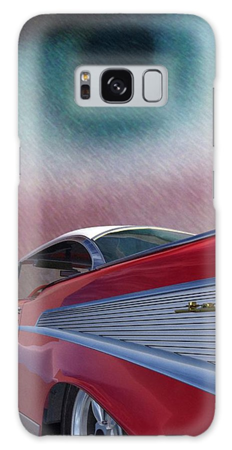 Classic Cars Galaxy S8 Case featuring the digital art A Second Look by Richard Rizzo