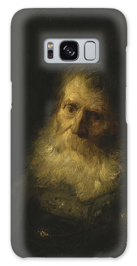 Jan Lievens A Tronie The Head And Shoulders Of An Old Bearded Man Galaxy S8 Case featuring the painting A Tronie The Head And Shoulders Of An Old Bearded Man by Celestial Images