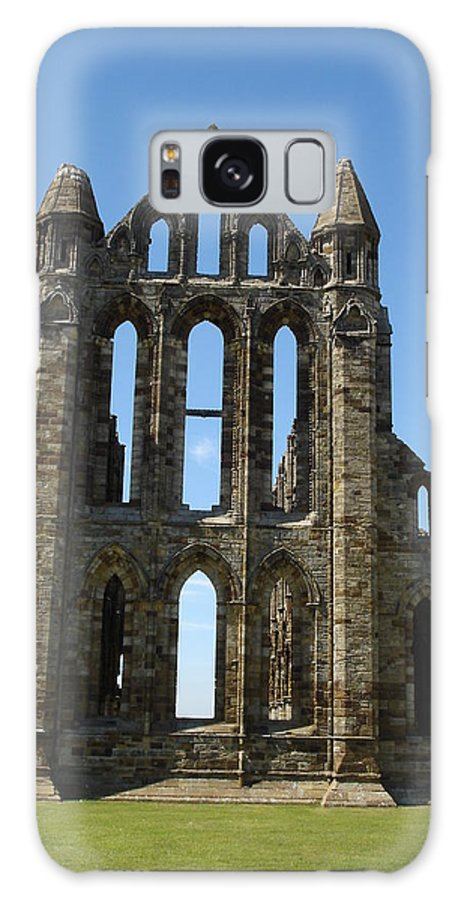 Abby Galaxy S8 Case featuring the photograph Abbey At Whitby by Susan Baker
