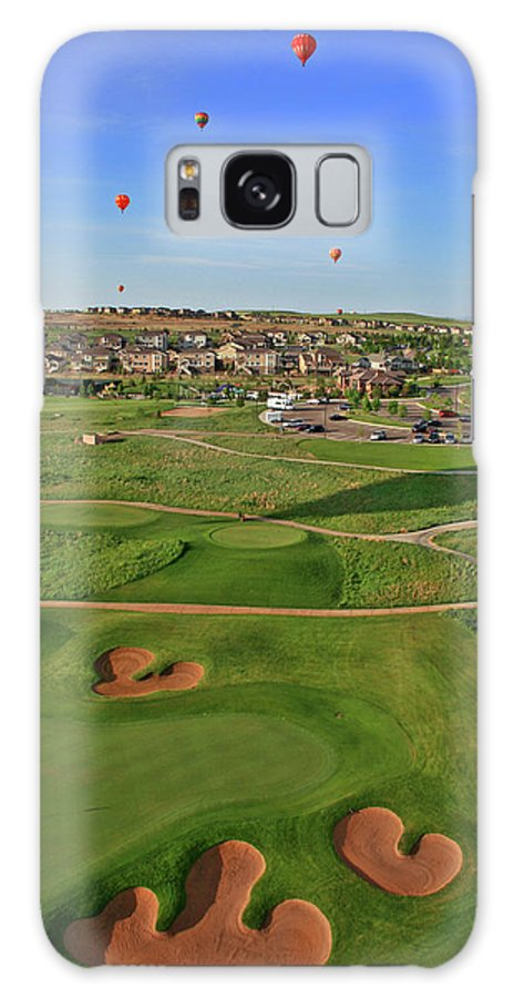 Golf Galaxy S8 Case featuring the photograph Above The Course by Scott Mahon