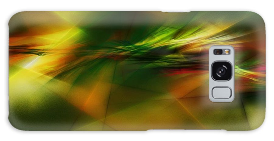 Digital Painting Galaxy S8 Case featuring the digital art Abstract 060210 by David Lane