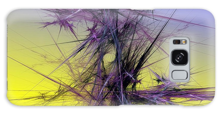 Abstract Digital Painting Galaxy S8 Case featuring the digital art Abstract 10-08-09 by David Lane
