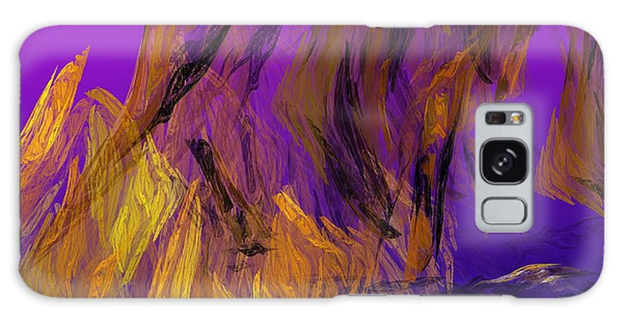 Abstract Digital Painting Galaxy S8 Case featuring the digital art Abstract 10-16-09-3 by David Lane