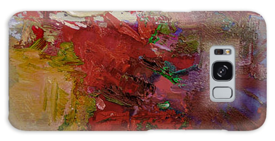 Abstract Galaxy S8 Case featuring the painting Abstract 103 by Betty Jean Billups