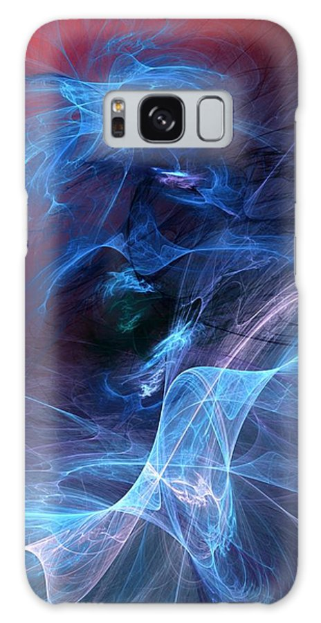 Fine Art Digital Art Galaxy S8 Case featuring the digital art Abstract 111610 by David Lane