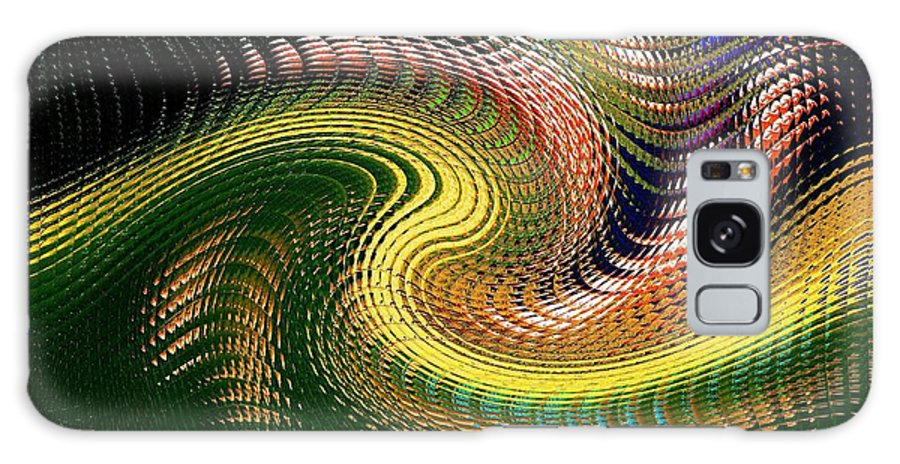 Abstract Galaxy S8 Case featuring the photograph Abstract 47 by Kristalin Davis