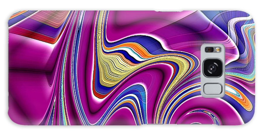 Abstract Galaxy S8 Case featuring the digital art Abstract #49 by Iris Gelbart