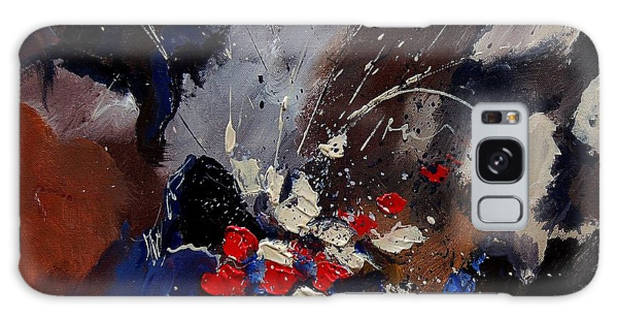 Abstract Galaxy S8 Case featuring the painting Abstract 55900122 by Pol Ledent