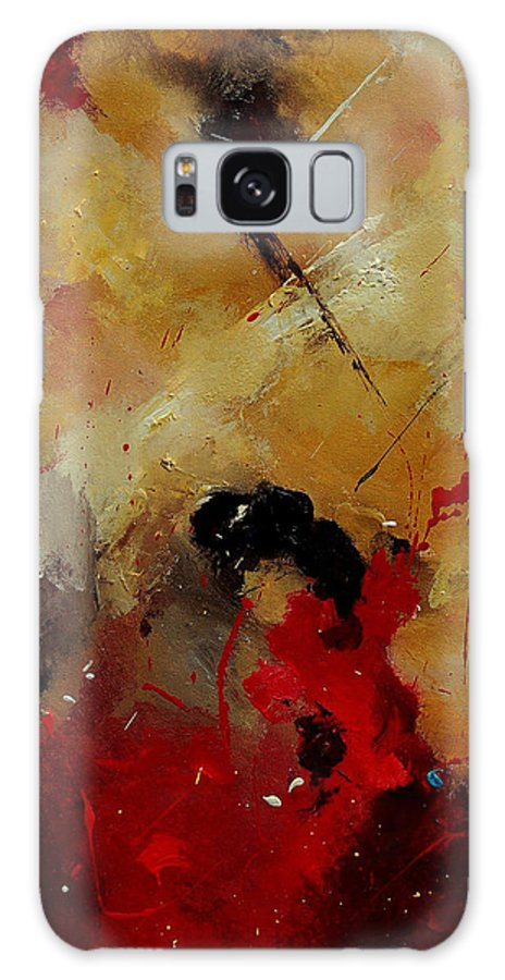 Abstract Galaxy S8 Case featuring the painting Abstract 901156 by Pol Ledent