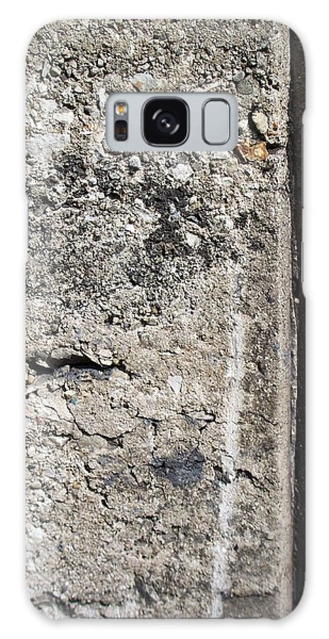 Industrial. Urban Galaxy S8 Case featuring the photograph Abstract Concrete 16 by Anita Burgermeister