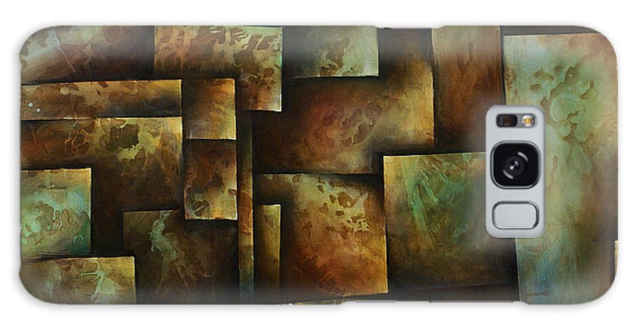 Abstract Art Galaxy S8 Case featuring the painting Abstract Design 16 by Michael Lang