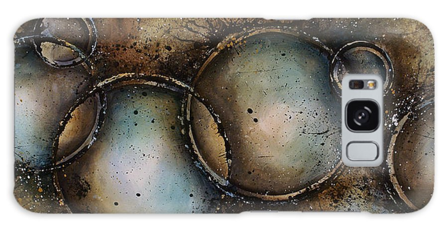 Art Galaxy S8 Case featuring the painting Abstract Design 22 by Michael Lang