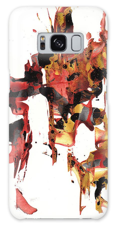 Abstract Expressionism Painting Expressive Intensive Painting Abstract Expressionism Painting Original Symbol Painting Abstract Original Painting Painting Paintings Abstract Painting Paintings Paintings Modern Art Paintings Paintings Expressionism Paintings Paintings Painting Canvas Prints Painting Iphone Cases Paintings Canvas Prints Paintings Iphone Cases Abstract Painting Paintings Canvas Prints Giclee Print Painting Expressive Painting Print Galaxy S8 Case featuring the painting Abstract Expressionism Painting Series 744.102110 by Kris Haas