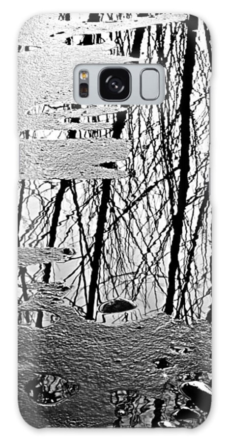 Ice Galaxy S8 Case featuring the photograph Abstract In Ice by Marilyn Hunt