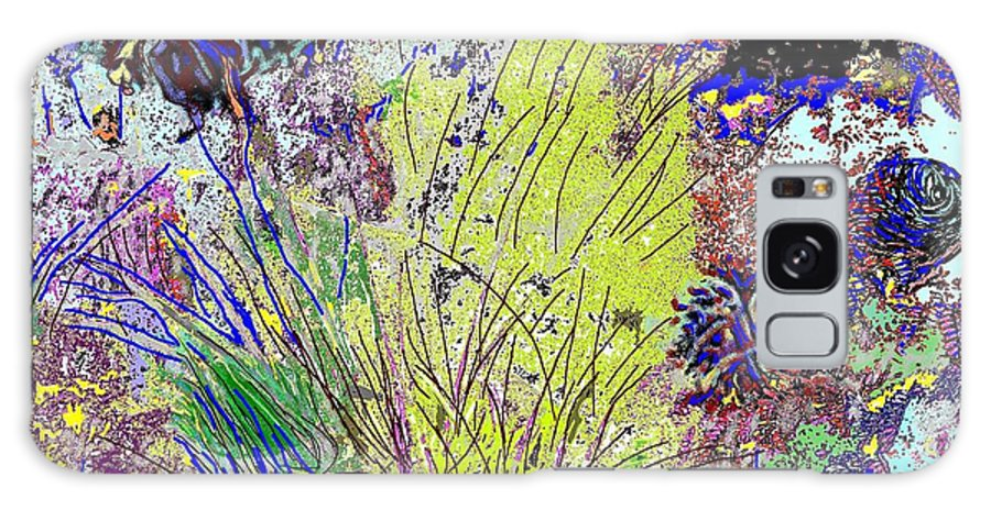 Abstract Galaxy S8 Case featuring the photograph Abstract Musings by Ian MacDonald