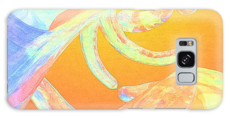 Abstract Galaxy Case featuring the photograph Abstract Number 1 by Peter J Sucy