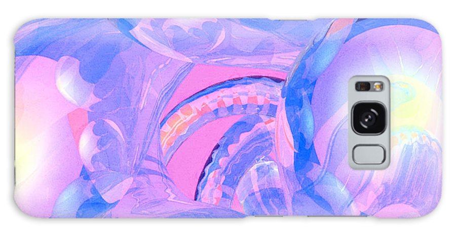 Abstract Galaxy Case featuring the photograph Abstract Number 7 by Peter J Sucy