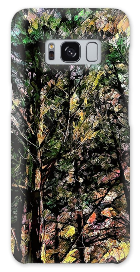 Trees Galaxy S8 Case featuring the photograph Abstract Trees 691 by Kristalin Davis