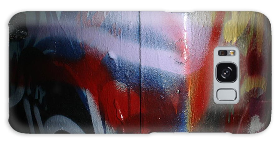 Abstract Urban Art Galaxy S8 Case featuring the photograph Abstract Urban Art by Chandelle Hazen