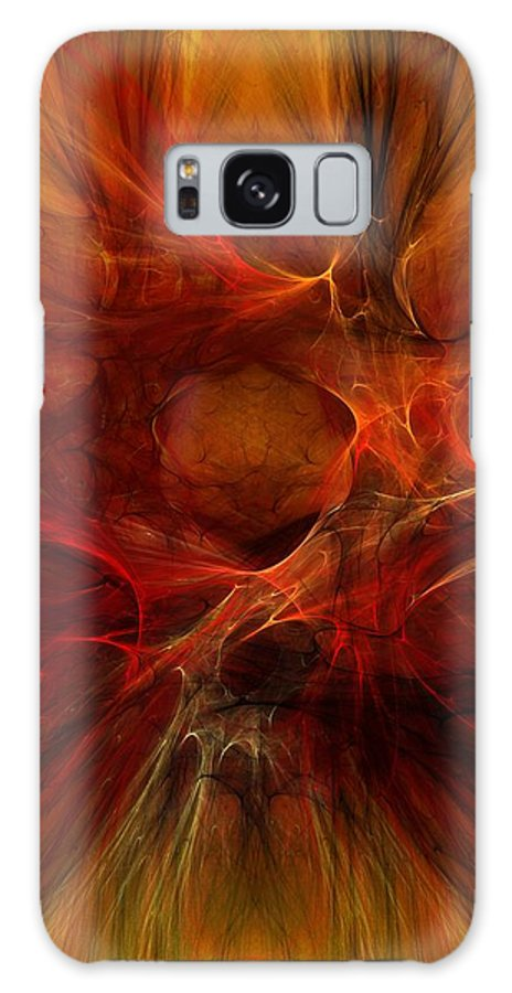 Digital Painting Galaxy S8 Case featuring the digital art Abstract0610b by David Lane