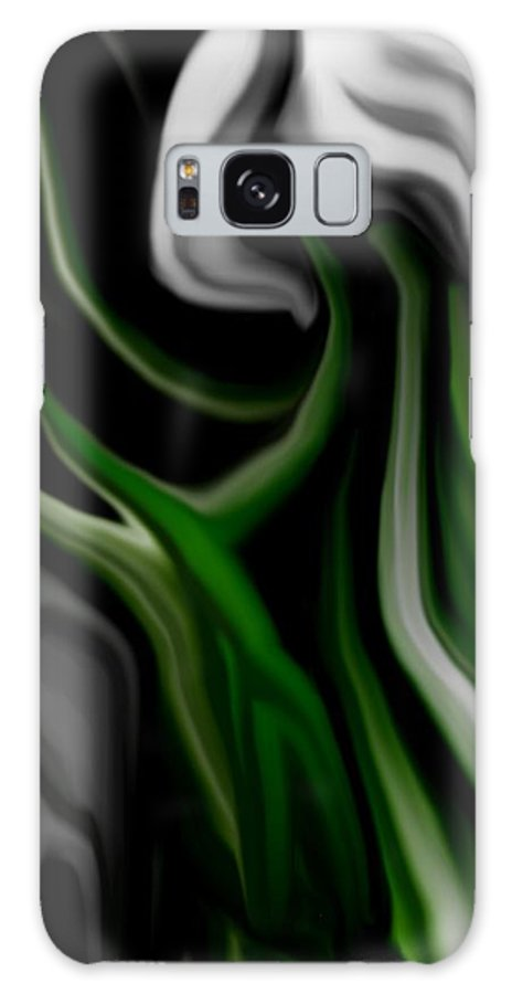 Abstract Galaxy Case featuring the digital art Abstract309h by David Lane