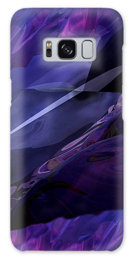 Abstract Galaxy Case featuring the digital art Abstractbr6-1 by David Lane