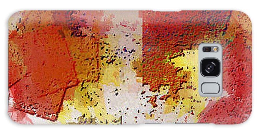 Digital Galaxy S8 Case featuring the digital art Abstrakt In Serie by Ilona Burchard