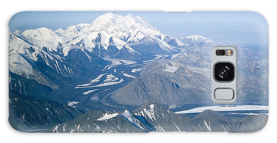 North America Galaxy S8 Case featuring the photograph Aerial Of Mount Mckinley by Rich Reid