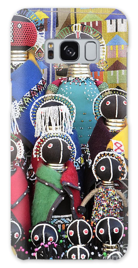 Xhosa Dolls Galaxy S8 Case featuring the photograph African Dolls by Neil Overy