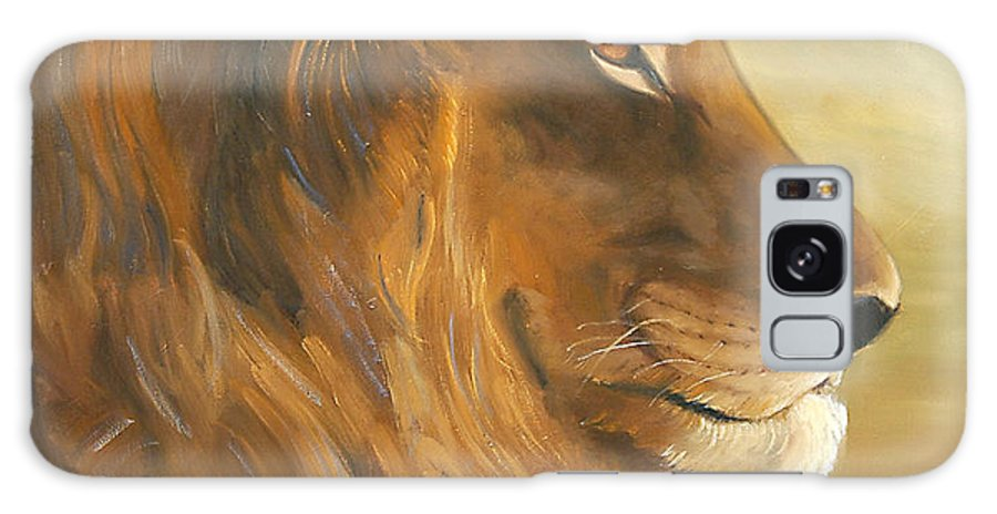 Painting Galaxy Case featuring the painting African King by Greg Neal