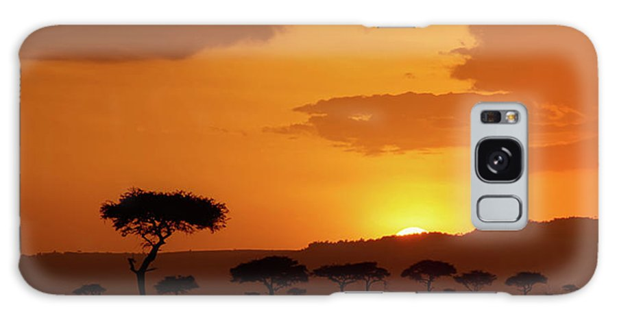 Africa Galaxy S8 Case featuring the photograph African Sunrise by Sebastian Musial