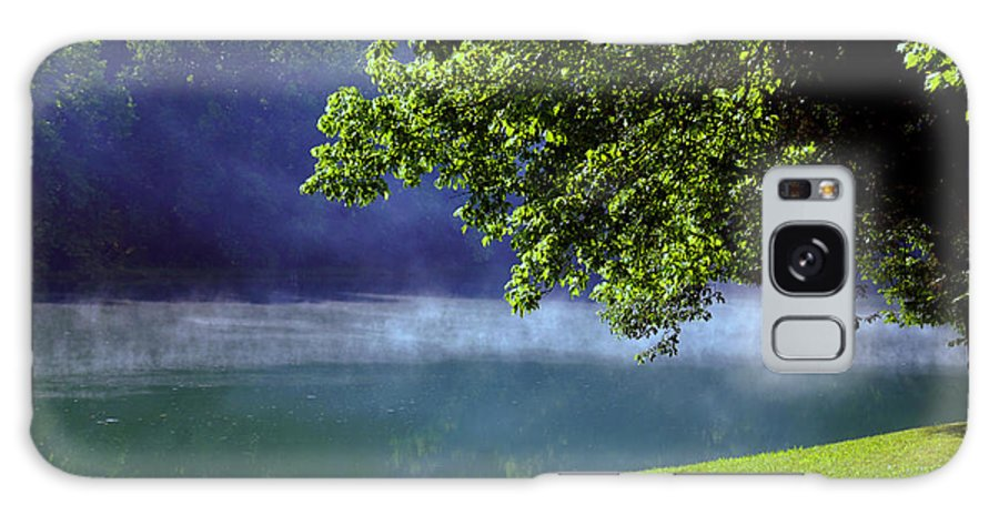 Fog Galaxy S8 Case featuring the photograph After A Warm Summer Rain by Susanne Van Hulst