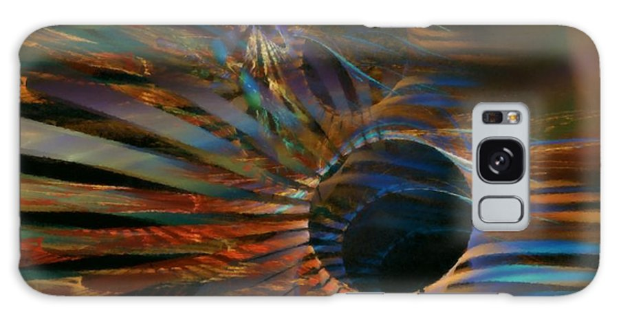 Abstract Galaxy S8 Case featuring the digital art After Hours by NirvanaBlues