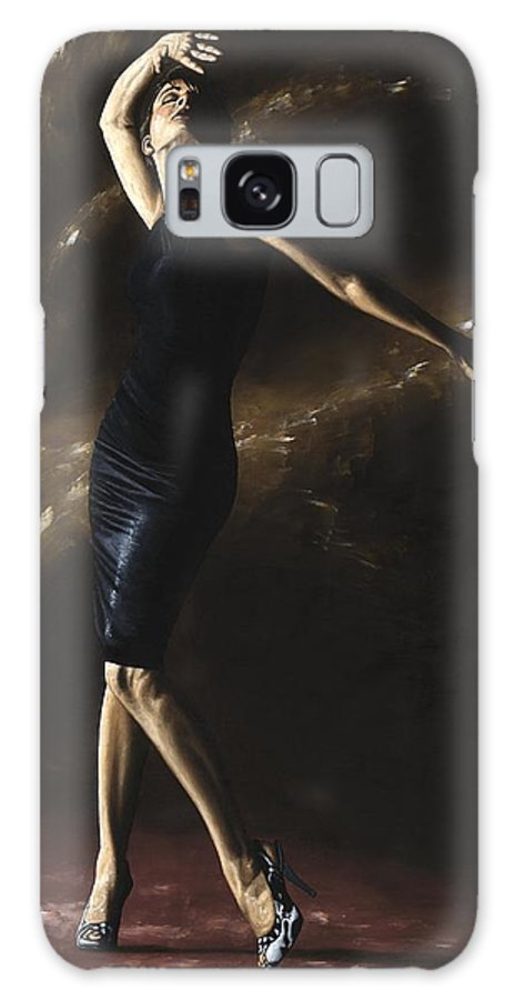 Dance Galaxy Case featuring the painting After The Dance by Richard Young
