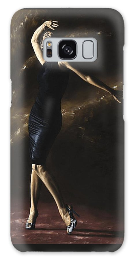 Dance Galaxy S8 Case featuring the painting After the Dance by Richard Young