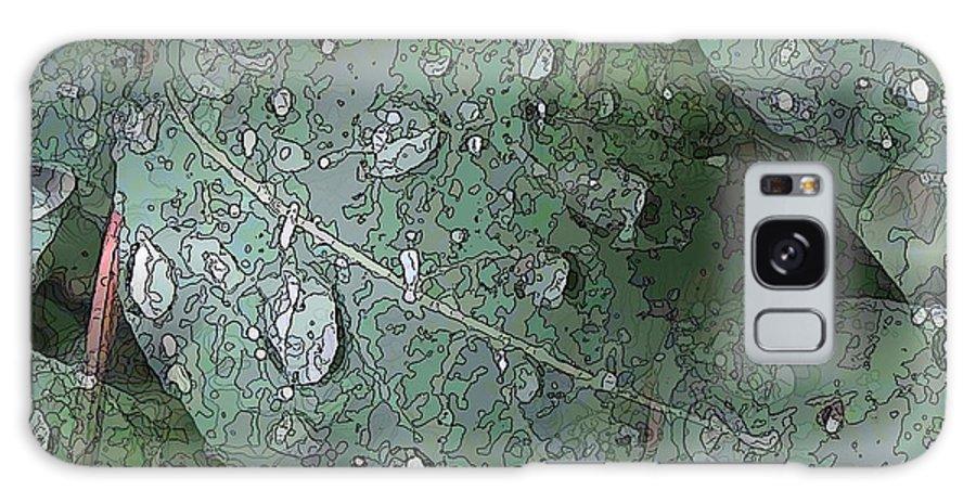 Rain Galaxy S8 Case featuring the digital art After The Rain 4 by Tim Allen
