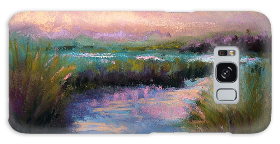 Landscape Galaxy S8 Case featuring the pastel After The Rain by Susan Jenkins