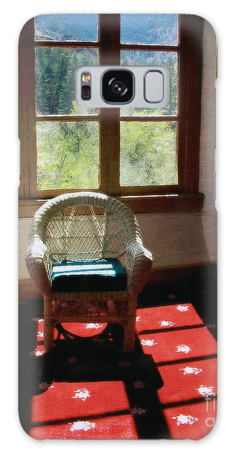 Antiques Galaxy S8 Case featuring the painting Afternoon In The Solarium by RC DeWinter