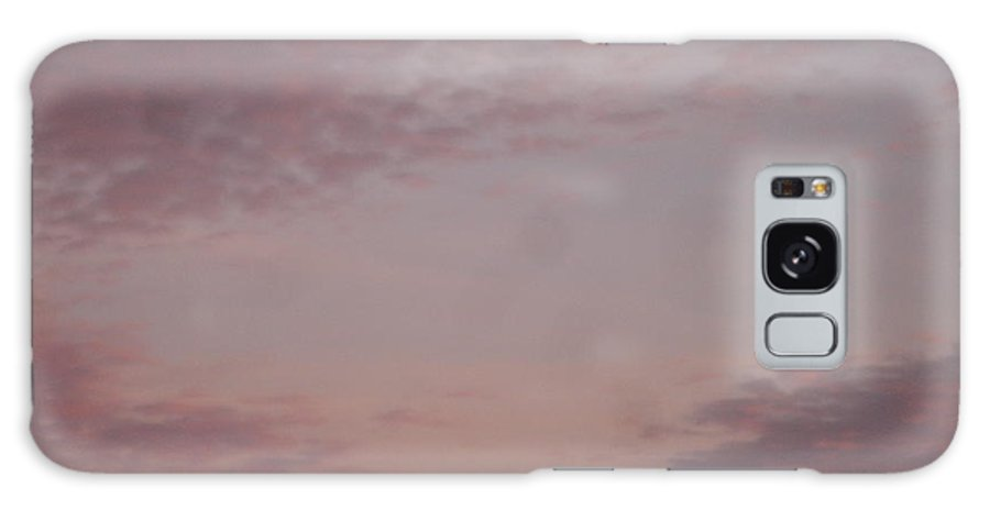 Skyscape Galaxy Case featuring the painting Afternoon Sky by Roger Cummiskey