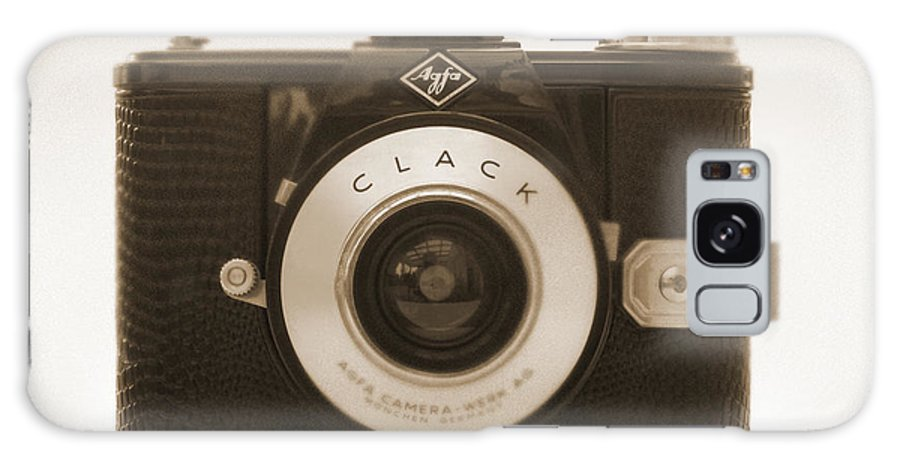 Vintage Agfa Clack Galaxy S8 Case featuring the photograph Agfa Clack Camera by Mike McGlothlen