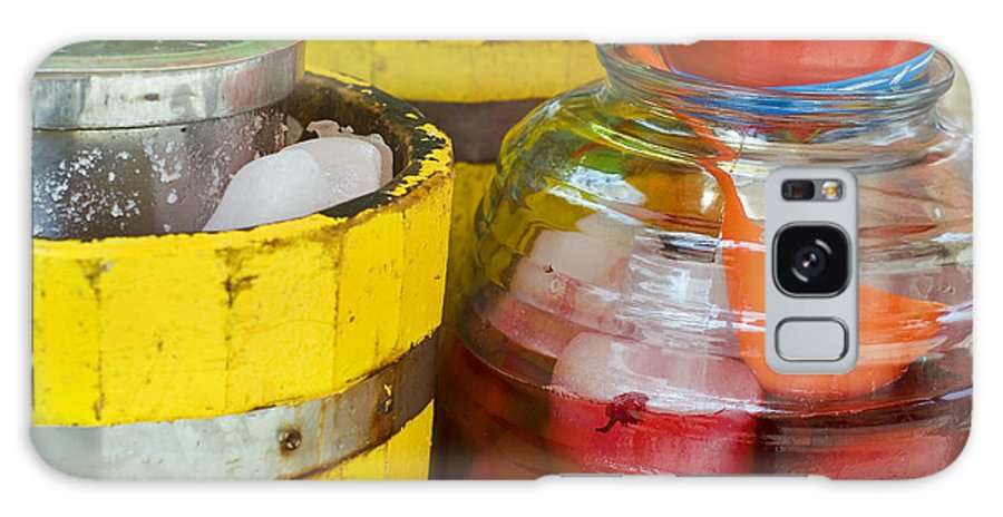 Beverage Galaxy Case featuring the photograph Agua De Hamaica by Skip Hunt